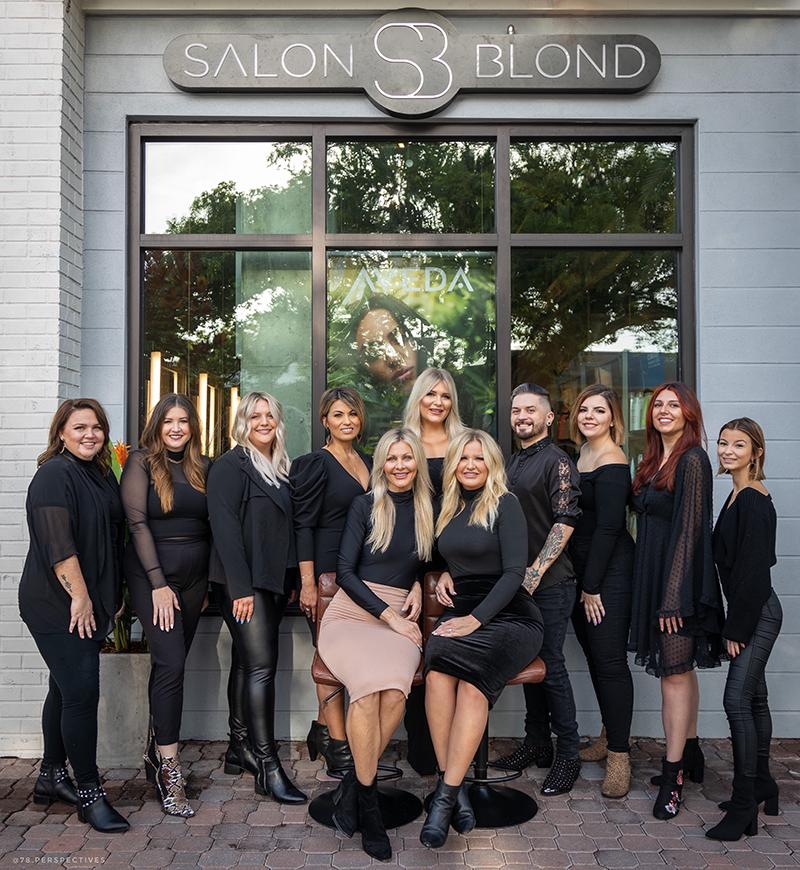 Salon Blond - Aveda Hair Salon Dunedin Staff